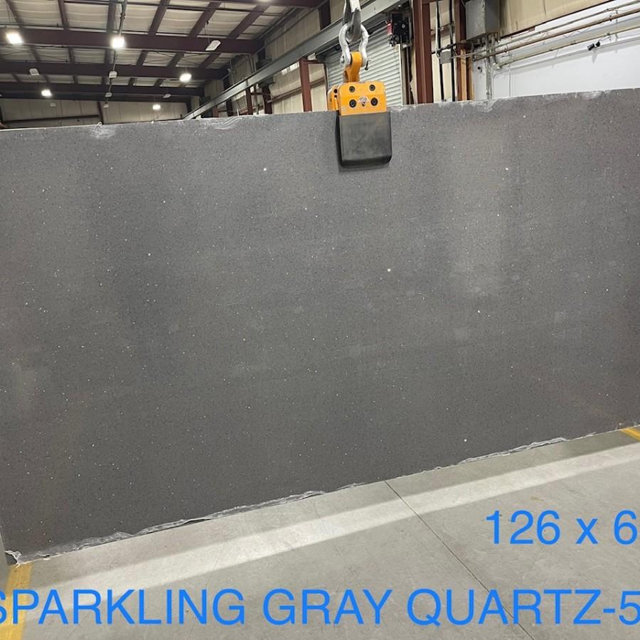 SPARKLING GRAY QUARTZ